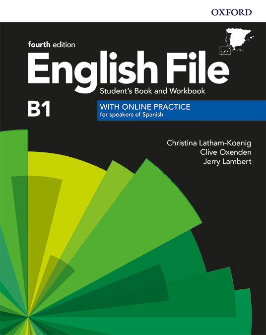 ENGLISH FILE B1 INTERMEDIATE 4TH EDITION. STUDENT'S BOOK AND WORKBOOK WITH KEY PACK | 9780194058063 | LATHAM-KOENIG, CHRISTINA/OXENDEN, CLIVE/LAMBERT, JERRY