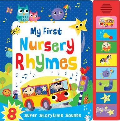 MY FIRST NURSERY RHYMES MUSICAL | 9781784404574